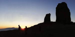 Roque Nublo noche